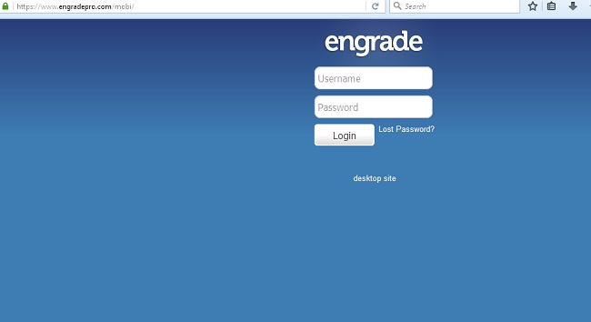 Engrade Pro Mobile Login
