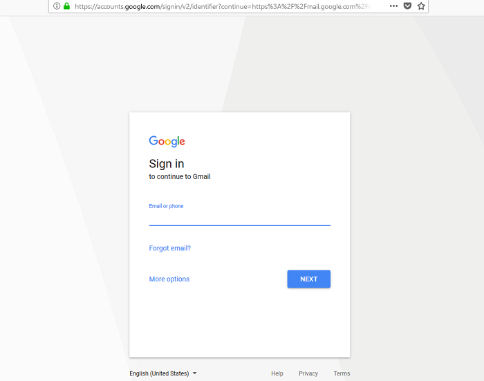 Gmail Sign In - Google account login
